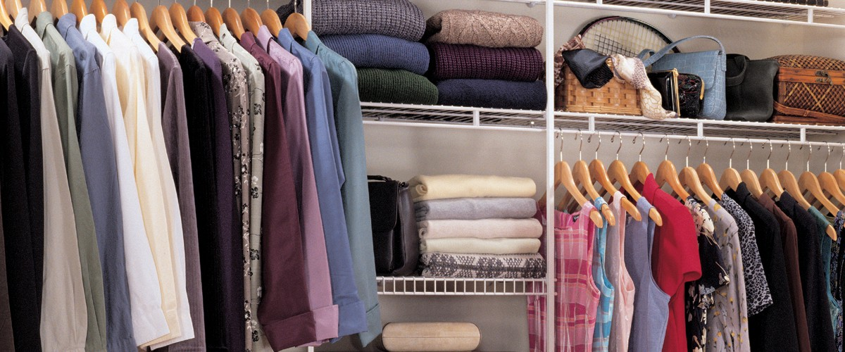ClosetMaid Ventilated Closet Shelving