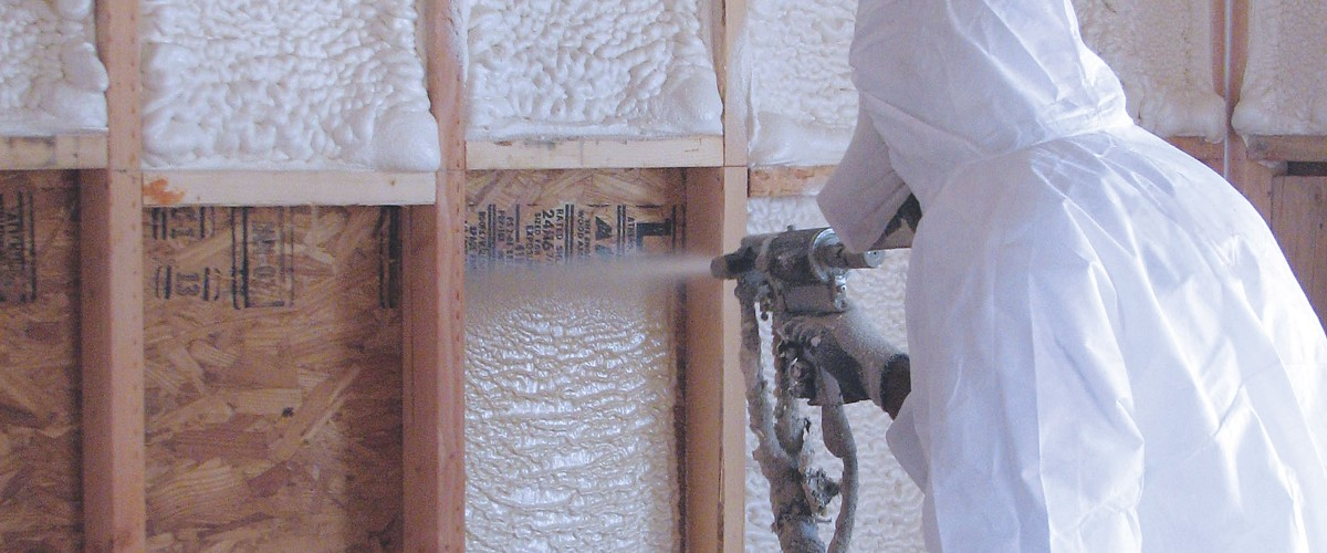 Spray foam insulation installers